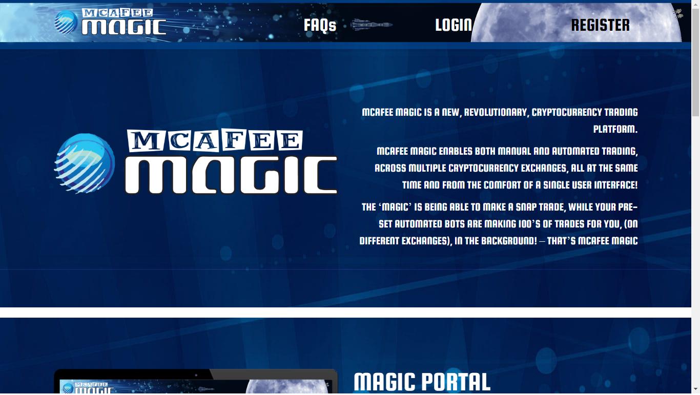 McAfee Magic | Inside Crypto Today